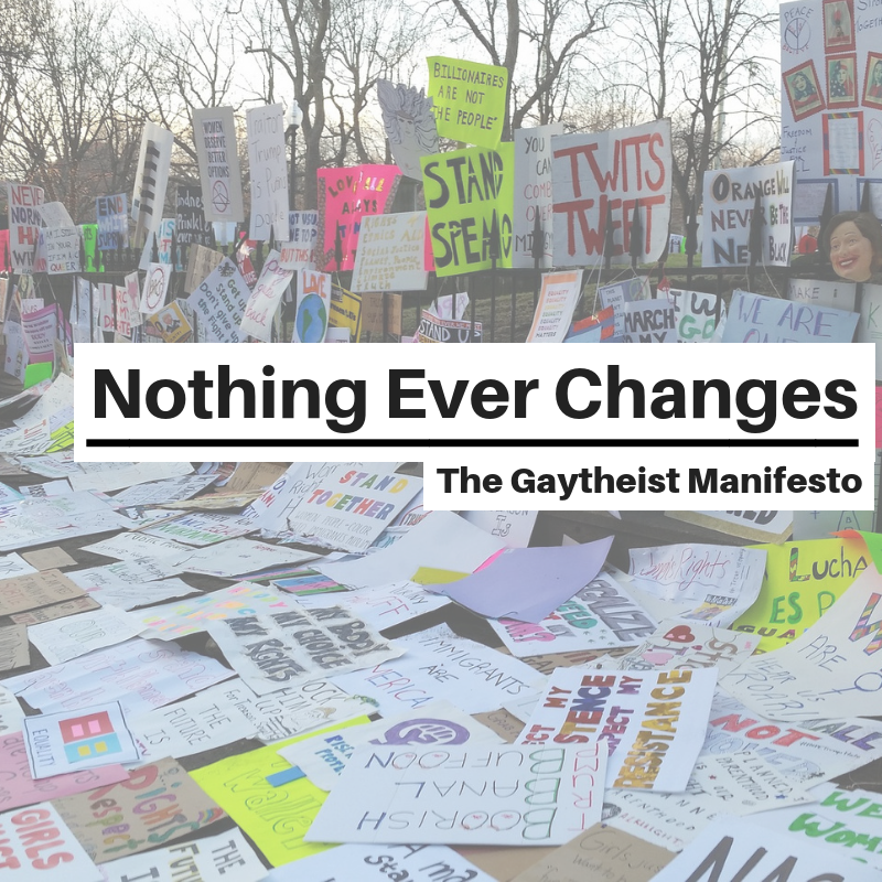 #181 – Nothing Ever Changes