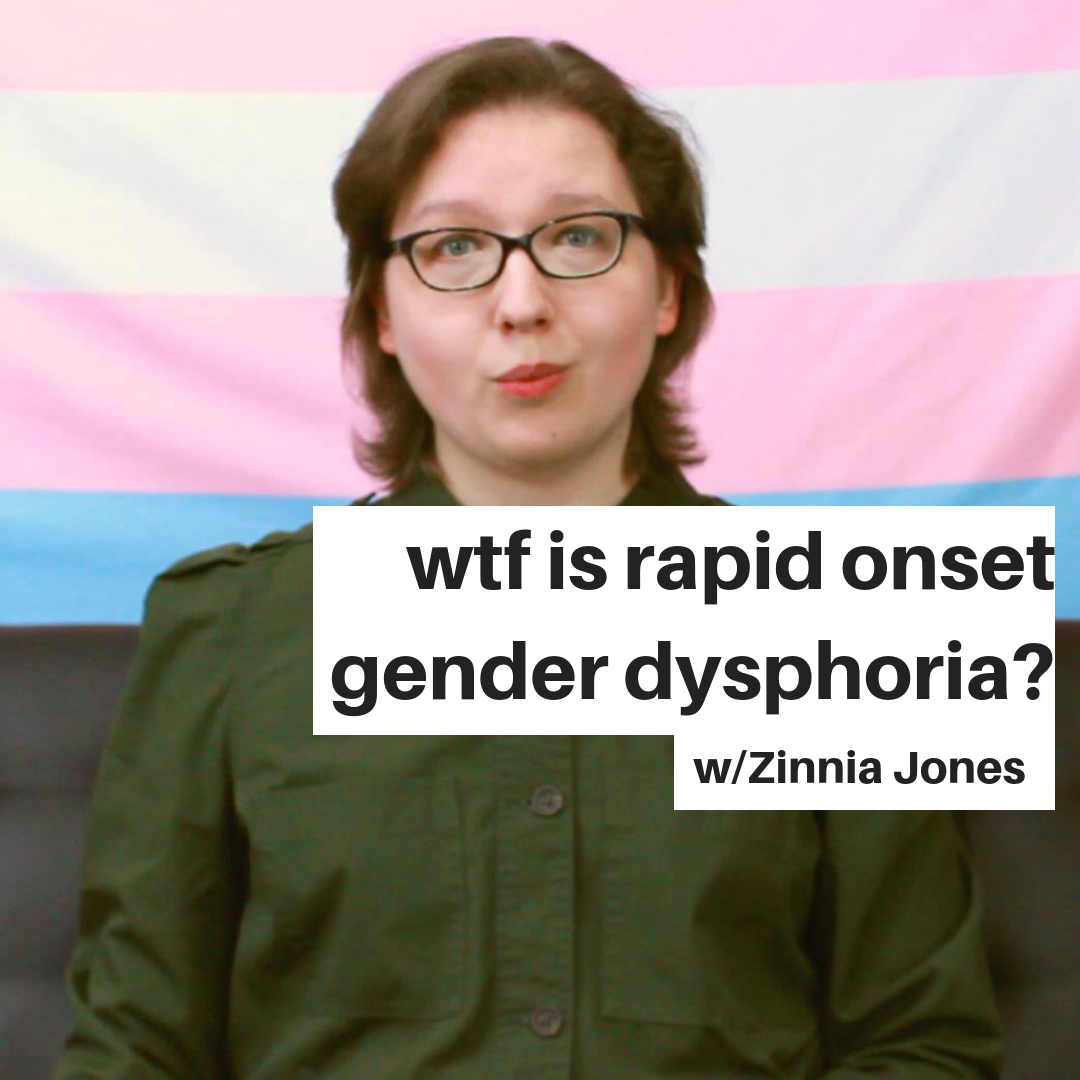 wtf is rapid onset gender dysphoria?